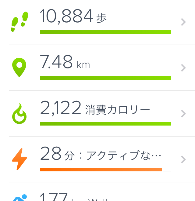Fitbit アプリ