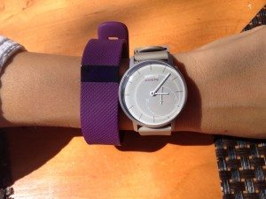 Withings Activite PopとFitbit Charge HR 比較 上から