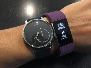 Withings Activite Steel vs Fitbit Charge 2