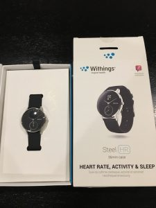 Withings Steel HR パッケージ