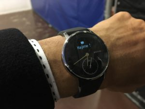 Withings Steel HR 通知機能