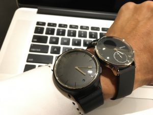 Withings Steel HR vs Misfit Phase デザイン比較
