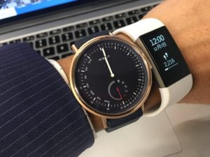 Misfit Command vs Fitbit Charge 2 着けた感じの比較