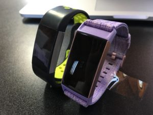 Fitbit Charge 3 vs Charge 2 Front