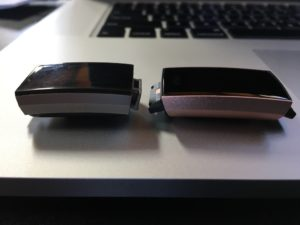 Fitbit Charge 3 vs Charge 2 Tracker Side