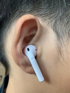 AirPods Earpiece Fit