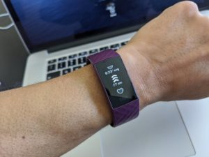 Fitbit Charge 4 Active Zone Minutes Total