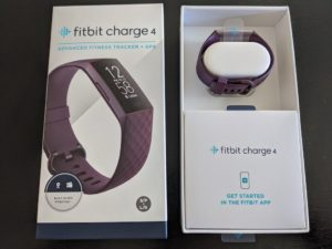 Fitbit Charge 4 Package